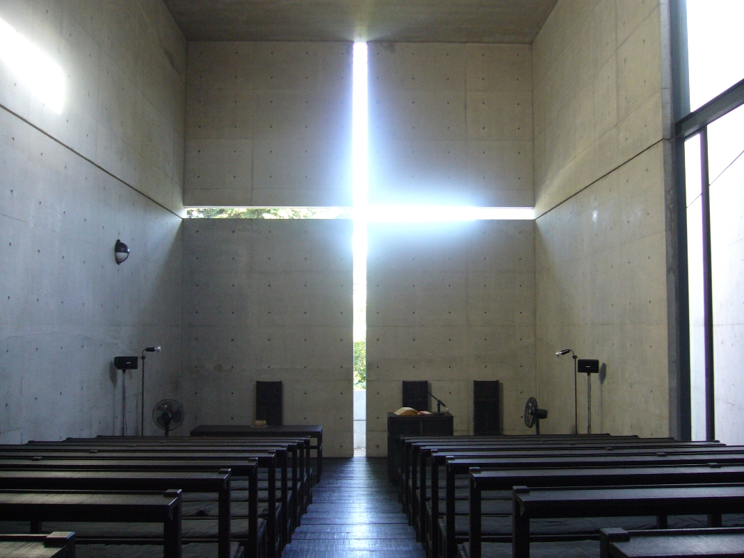 iglesia de la luz tadao ando sobrearquitecturas