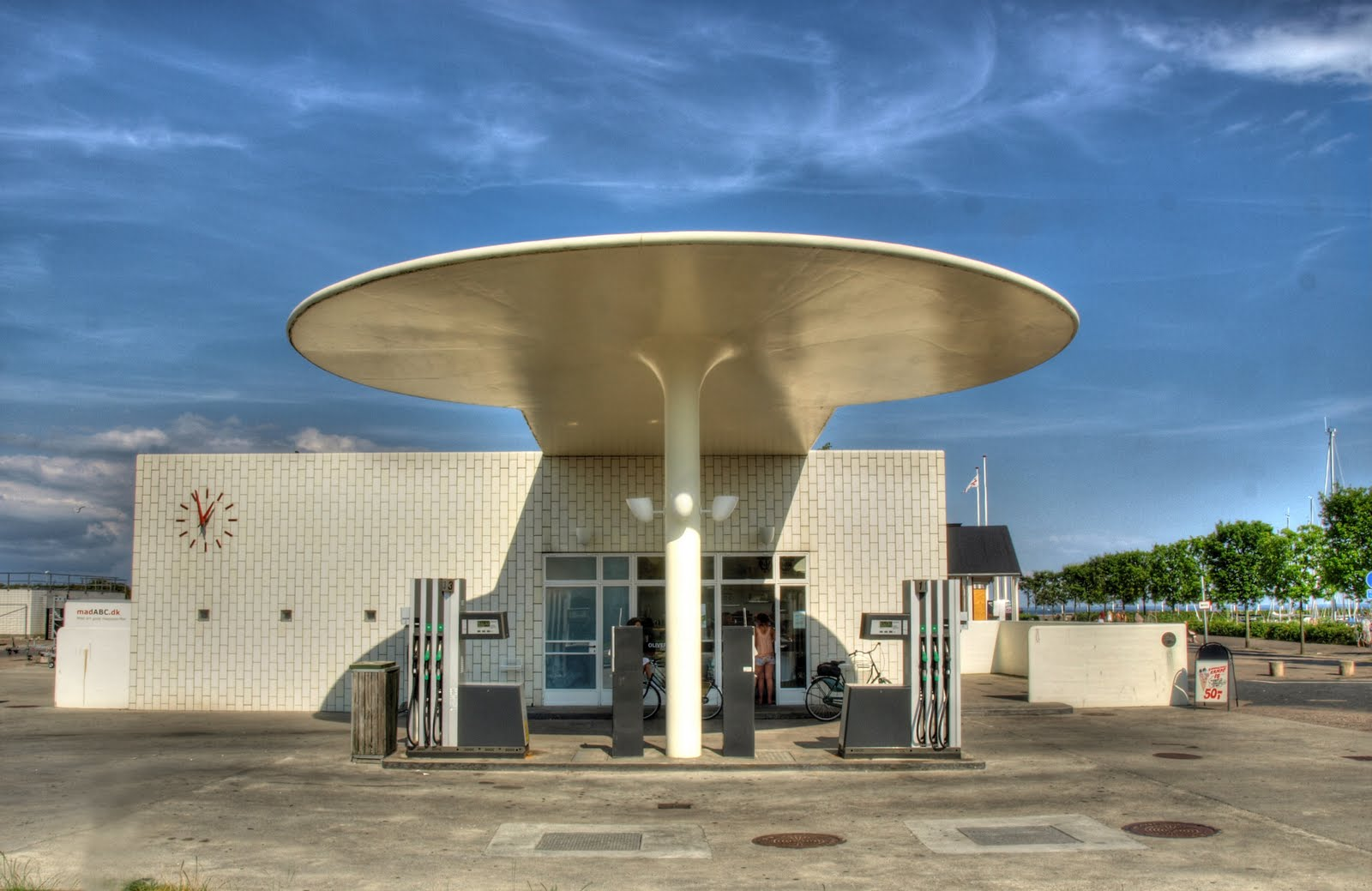 Arne Jacobsen y la estación de servicio de Skovshoved Sobrearquitecturas